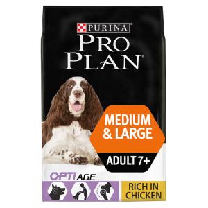 Purina PRO PLAN Medium & Large Adult 7+ Huhn