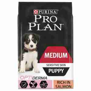 Purina PRO PLAN Medium Puppy Sensitive Skin Lachs