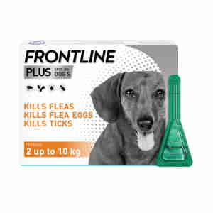 Frontline Plus Flea & Tick Small Dog (2-10kg)