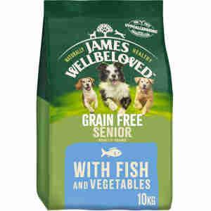 James Wellbeloved Dog Senior Grain Free met vis en groente