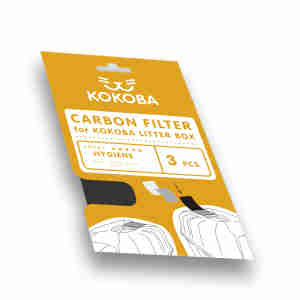 Kokoba Cat Litter Box Carbon Filter
