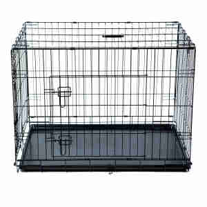 Kokoba Metal Travel Cage for Dogs