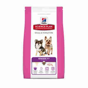 Hill's Science Plan Small & Miniature Senior Hundefutter (ab 11 Jahren)