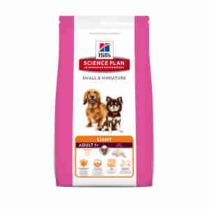 Hill's Science Plan Small & Miniature Adult Light Hundefutter mit Huhn