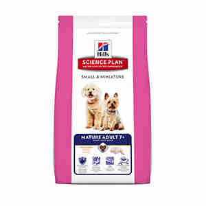 Hill's Science Plan Small & Miniature Mature Adult Hundefutter (ab 7 Jahren)