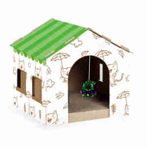 Kokoba Cat Scratcher House Condo