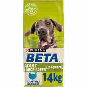 BETA Adult Large Breed Dry Dog Food with Turkey