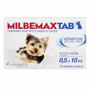 Milbemax Comprimés pour Chiens et Chiots (0.5-5kg)