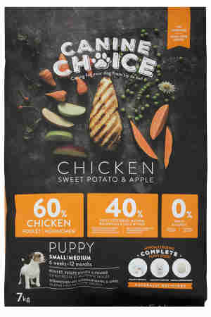 Canine Choice Puppy Small & Medium Dog Food