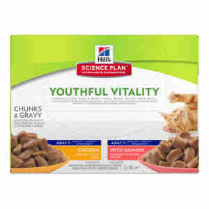 Hill`s Science Plan Feline Adult 7+ Youthful Vitality Multipack