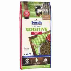 Croquettes Pour Chien Bosch Sensitive Agneau & Riz