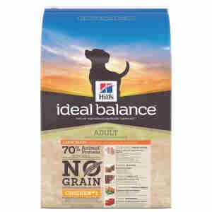 Croquettes Hill's Ideal Balance sans céréales pour grands chiens adultes