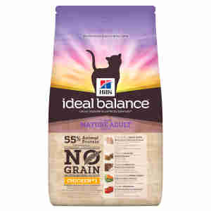 Hill's Ideal Balance Mature Adult No Grain Cat Food