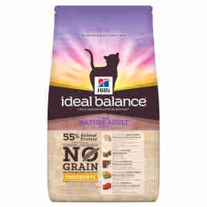 Hill's Ideal Balance Mature Adult No Grain Cat Food