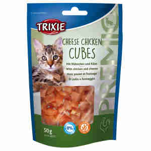 Trixie Premio Cheese Chicken Cubes for Cats