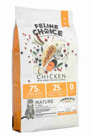 Feline Choice Complete Mature Grain Free Cat Food