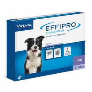 Effipro Spot On voor honden (10-20kg)