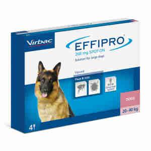 Effipro Spot On for Large Dogs (20-40kg)