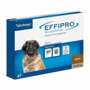 Effipro Spot On voor honden (40-60kg)