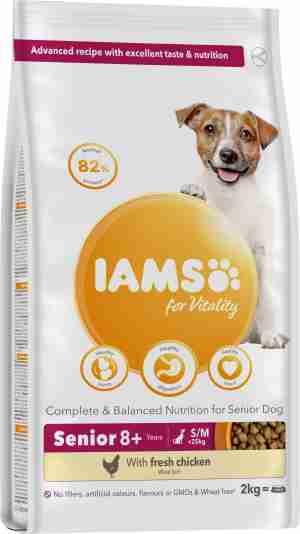 IAMS for Vitality pour chien senior de petites et moyennes races au poulet