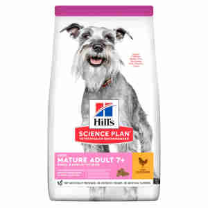 Hill's Science Plan Canine Small & Mini Mature Adult 7+ Light Chicken