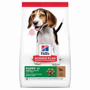 Hill's Science Plan Canine Medium Puppy <1 Lamb & Rice