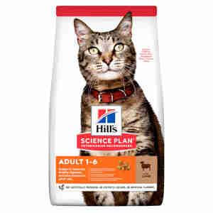 Hill's Science Plan Feline Adult 1-6 Lamb & Rice