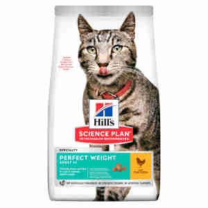 Hill's Science Plan Adult Perfect Weight Dry Cat Food Poulet