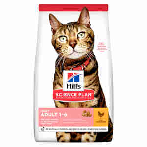 Hill's Science Plan Feline Adult 1-6 Light Chicken