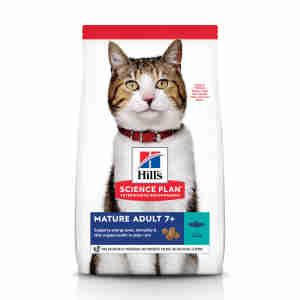 Hill's Science Plan Mature Adult 7+ Dry Cat Food Thon