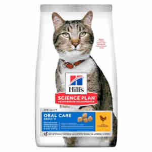 Hill's Science Plan Feline Adult 1+ Oral Care Huhn