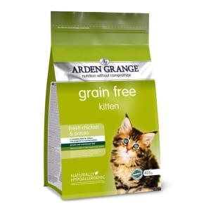 Arden Grange Grain-Free Kitten Dry Cat Food - Chicken & Potato