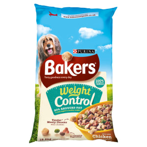 Bakers Weight Control Adult Dry Dog Food - Chicken