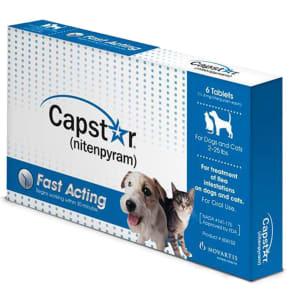 Capstar Flea Tablets for Small Dog & Cats