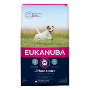 Eukanuba Active Adult Small Breed Dry Dog Food - Chicken