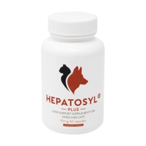 Hepatosyl Plus Liver Support Capsules for Dog & Cat