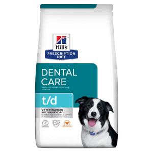 Hill's Prescription Diet Dental Care t/d Dry Dog Food - Chicken