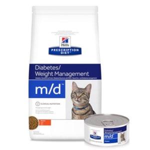 Hills Prescription Diet m/d voor katten