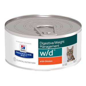 Hills Prescription Diet w/d voor katten