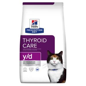 Hill's Prescription Diet Thyroid Care y/d Adult Dry Cat Food - Original