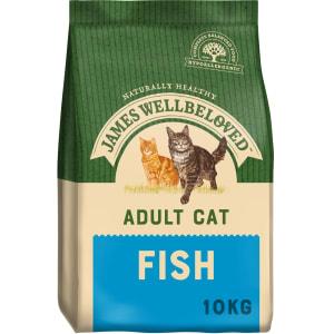 James Wellbeloved Complete Adult Dry Cat Food - Fish