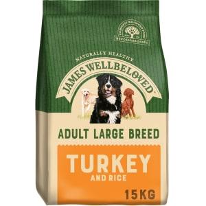 James Wellbeloved Large Adult Dry Dog Food - Turkey & Rice