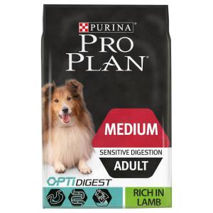Purina Pro Plan Sensitive Digestion Medium Adult Dry Dog Food - Lamb