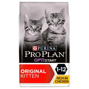 Purina Pro Plan Opti Start Original Kitten/Junior 1-12 Dry Cat Food - Chicken