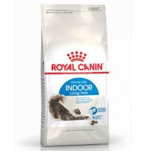 Royal Canin INDOOR Longhair Trockenfutter für Wohnungskatzen mit langem Fell