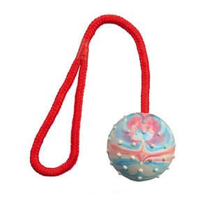 Trixie Ball am Seil aus Naturgummi