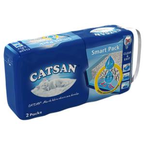 Litière pour chat Catsan Hygiene Plus non agglomérante Smart Pack