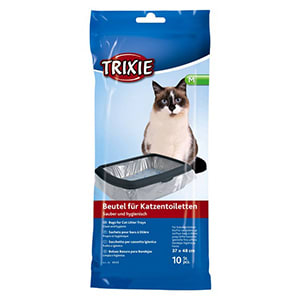 Trixie 10 Piece Cat Litter Tray Bags