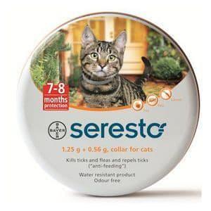Seresto Collier Anti Puce et Tiques pour chats