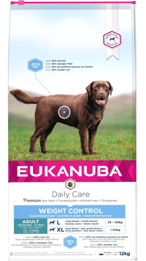 Eukanuba Weight Control Large Breed Adult Dry Dog Food - Chicken